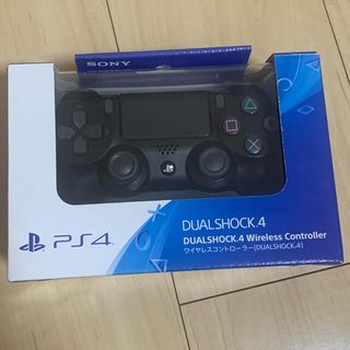 PlayStation4 - ps4 SONY ワイヤレス コントローラー 純正 ブラック 中古 美品