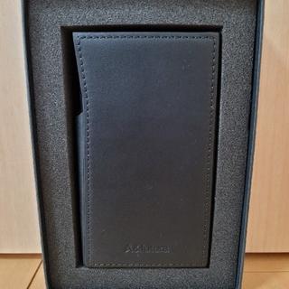 アイリバー(iriver)のAstell&Kern SE100 純正レザーケース(Ebony Black)(ポータブルプレーヤー)