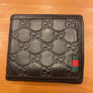 Gucci - グッチ GUCCI  二つ折り財布