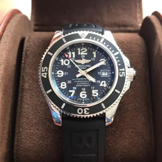 ブライトリング(BREITLING)のスーパーオーシャンⅡ 500m防水 美品(腕時計(アナログ))