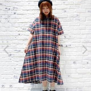 SM2 - 【美品】SM2 チェックワンピース