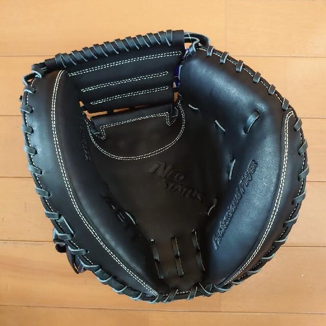 ZETT(ゼット)のテール様専用ゼット硬式キャッチャーミット スポーツ/アウトドアの野球(グローブ)の商品写真