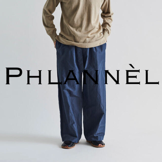 1LDK SELECT - phlannel シルクラミーワイドパンツ L 定価4.6万