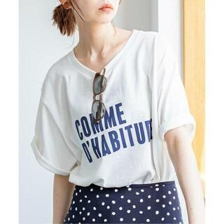 IENA - IENA  COMME DHABITUDE Tシャツ ホワイトA