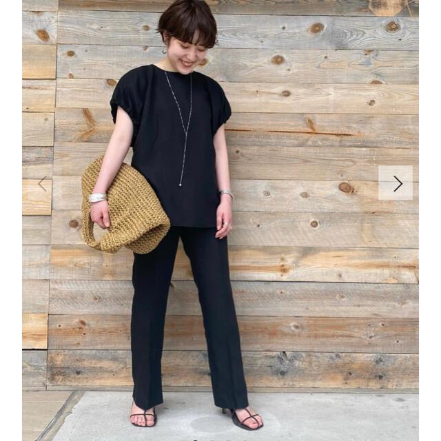 Mila Owen(ミラオーウェン)のミラオーウェン 今期新作 人気セットアップ ブラック 新品タグ付き レディースのワンピース(ロングワンピース/マキシワンピース)の商品写真