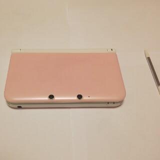 ニンテンドー3DS(ニンテンドー3DS)の3DSLL   ピンク(携帯用ゲーム機本体)