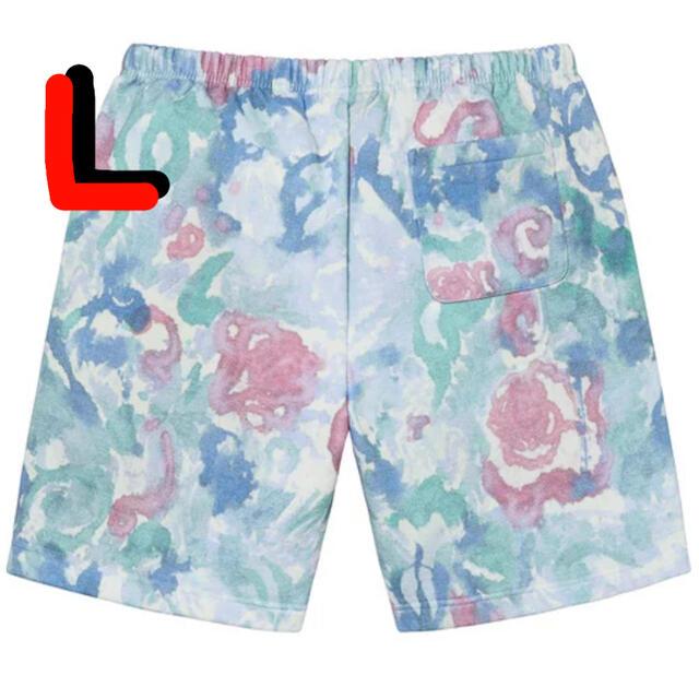 Supreme(シュプリーム)のSmall Box Sweatshort Watercolor Floral メンズのパンツ(ショートパンツ)の商品写真