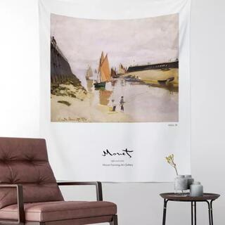 モネ No.6 タペストリー ファブリックポスター 韓国 背景 かわいい