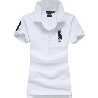 ポロラルフローレン(POLO RALPH LAUREN)の高品質女性用ポロ ラルフローレンポロシャツ15色(ポロシャツ)