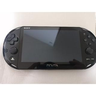 プレイステーションヴィータ(PlayStation Vita)のPSVita PCH-2000ZA11 ブラック(携帯用ゲーム機本体)