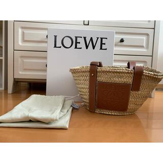 ロエベ(LOEWE)のロエベ  バスケットキャリーバッグ スモール(かごバッグ/ストローバッグ)