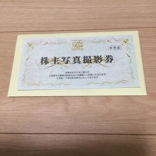 スタジオアリス 株主写真撮影券 株主優待(その他)