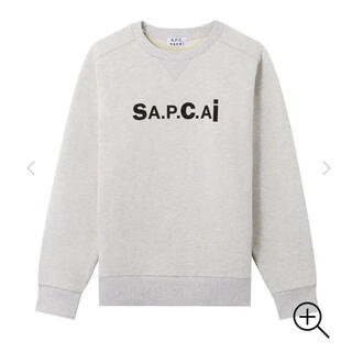sacai - 美品 SACAI × A.P.C Tani スウェットシャツ Mサイズ
