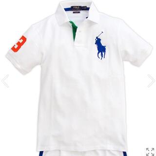 POLO RALPH LAUREN - ラルフローレン 鹿の子ビッグポニー 刺繍半袖ポロシャツMサイズ