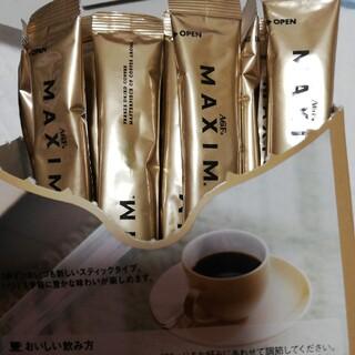 エイージーエフ(AGF)のMAXIMのAGF インスタントスティックコーヒー(コーヒー)