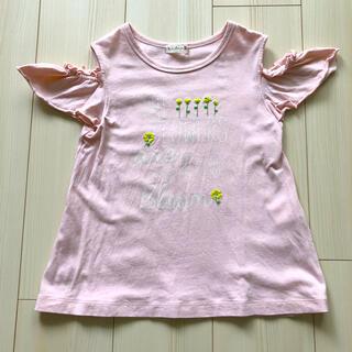 ニットプランナー(KP)のニットプランナー 肩開きAラインTシャツ 120(Tシャツ/カットソー)