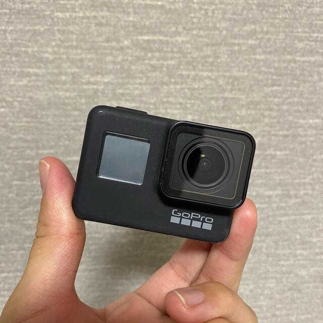 GoPro(ゴープロ)の【公式・状態良】ゴープロ7 付属品付き スマホ/家電/カメラのカメラ(コンパクトデジタルカメラ)の商品写真