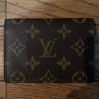 LOUIS VUITTON - 正規 ルイ ヴィトン モノグラム カードケース パスケース 定期入れ ポーチ