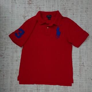ポロラルフローレン(POLO RALPH LAUREN)のPOLO RalphLauren 半袖 ポロシャツ ビッグポニー 赤 L 14-(Tシャツ/カットソー)