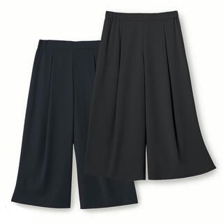 FOXEY - ♡美品♡ FOXEY SHARASHARA パンツⅡ ワイドパンツ ブラック