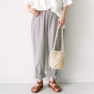 SM2 - 裾フリルパンツ