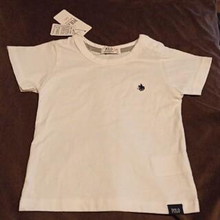 ポロ ベビー 白Tシャツ 100cm