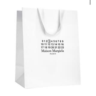 マルタンマルジェラ(Maison Martin Margiela)の新品☆メゾンマルジェラ ペーパーバッグ 紙袋(ショップ袋)