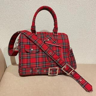 jouetie - jouetieジュエティの2way赤チェックバックルハンドバッグ