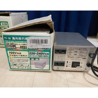 カシムラ(Kashimura)のカシムラ 変圧器 1000w(変圧器/アダプター)