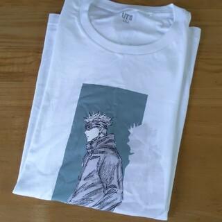 ユニクロ(UNIQLO)のユニクロ 呪術廻戦 五条 悟(Tシャツ/カットソー(半袖/袖なし))