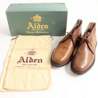 Alden - 1993年製 デッドストック alden ウイスキーコードバン  BEAMS別注