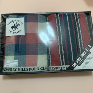 BEVERLY HILLS POLO CLUB(BHPC) - ビバリーヒルズ ポロクラブ フェイスタオル タオル 2枚