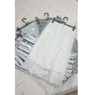 アプワイザーリッシェ(Apuweiser-riche)の美品 スカート4点セット(ひざ丈スカート)