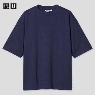 UNIQLO - UNIQLO エアリズムコットンオーバーサイズTシャツ