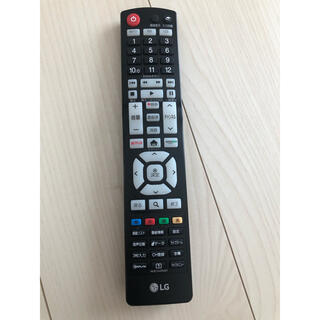 エルジーエレクトロニクス(LG Electronics)のLG  TV  リモコン(テレビ)