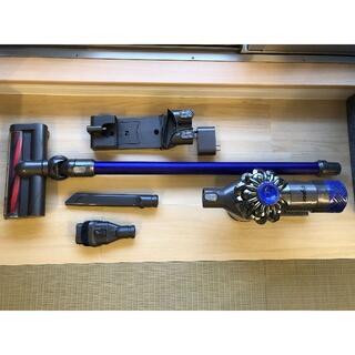 Dyson - ダイソン コードレス掃除機 V6 SV09 電池新しく交換 美品!!