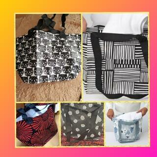 イケア(IKEA)のレア 最新作イケアIKEA キャリーバッグ 可愛いSサイズエコバッグ 5枚セット(エコバッグ)