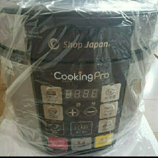 電気圧力鍋『cooking Pro』