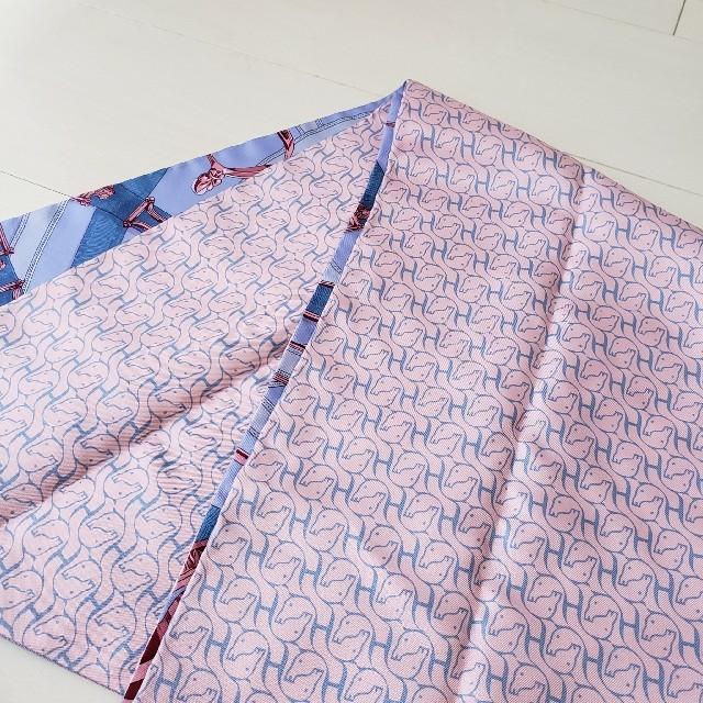 Hermes(エルメス)の極美品【エルメス】マキシ ツイリー 馬のカヴァルカドゥール  シルク スカーフ レディースのファッション小物(バンダナ/スカーフ)の商品写真