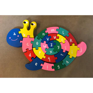フライングタイガー 木のおもちゃ(知育玩具)