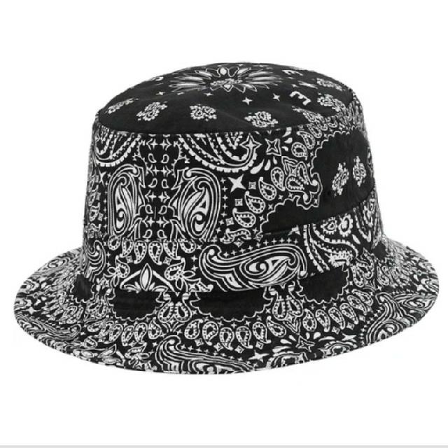 Supreme(シュプリーム)のSupreme Bandana Crusher black  s/m メンズの帽子(ハット)の商品写真