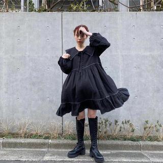 エイミーインザバッティーガール(Aymmy in the batty girls)のdearsisterhood  Bell Sleeve Dress ワンピース(ひざ丈ワンピース)