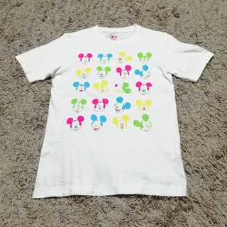 ユニクロ(UNIQLO)のUT コラボ Tシャツ S 半袖 ユニクロ Disney ミッキー マウス(Tシャツ/カットソー(半袖/袖なし))