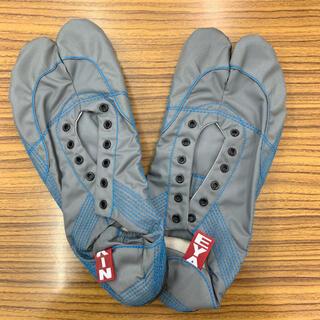【無敵】伝統職人の匠技が創り出すランニング足袋 グレー27.5cm ※箱なし発送