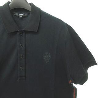 Gucci - グッチ GUCCI ポロシャツ 半袖 黒 ブラック シェリー