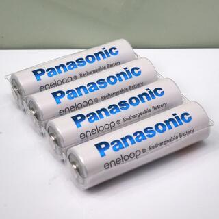 Panasonic - パナソニック エネループ 単3形充電池 BK-3MCC 4個 未使用