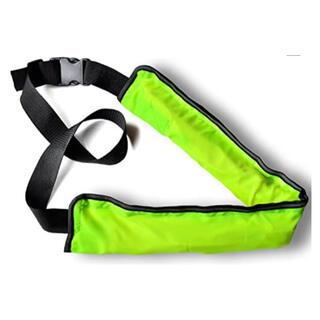 ライフジャケット 腰 蛍光色 緑