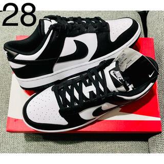 ナイキ(NIKE)の28㎝ Nike Dunk Low Retro Black White ダンク(スニーカー)