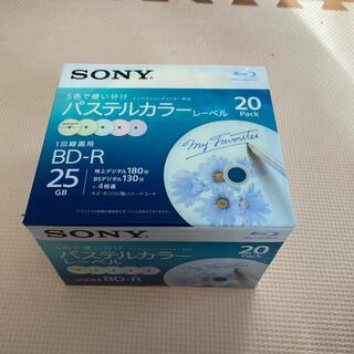 ソニー(SONY)の録画用BD-R パステルカラーレーベル20枚(その他)