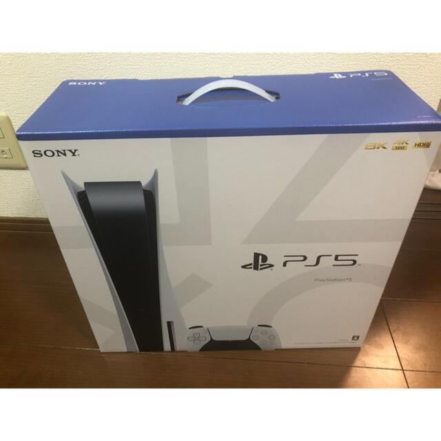 SONY(ソニー)のSONY PlayStation5 CFI-1000A01 エンタメ/ホビーのゲームソフト/ゲーム機本体(家庭用ゲーム機本体)の商品写真